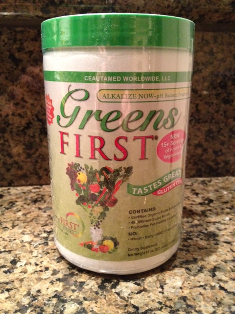 First Greens Powder