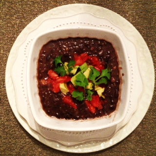 Quick & Easy Black Bean Soup