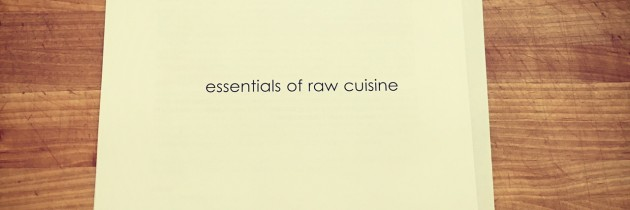 Essentials of Raw Cuisine
